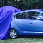 Chevy Spark with Rainfly