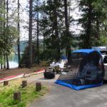 Honda Odyssey Camping
